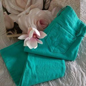 Lilly Pulitzer Worth Skinny Mini Crop Jeans